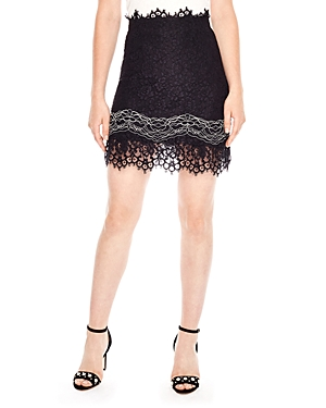 Sandro Jinny Lace Skirt