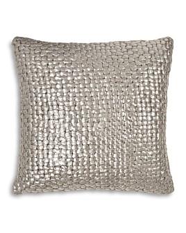 "Michael Aram - Metallic Basketweave Decorative Pillow, 18"" x 18"""