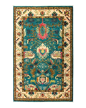 Solo Rugs Eclectic Vivid Area Rug, 5' x 8'