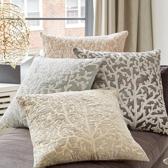"Michael Aram - Tree of Life Appliquéd Velvet Decorative Pillow, 20"" x 20"""