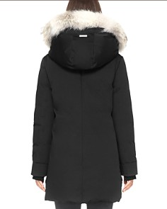 Soia & Kyo - Saundra Fur Trim Hooded Down Coat