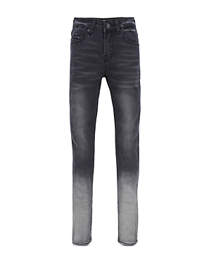 7 For All Mankind Girls' Ombre-Wash Skinny Jeans - Big Kid