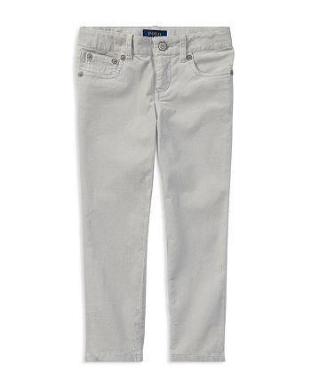 ef2221fd Ralph Lauren Girls' Stretch Corduroy Pants - Little Kid   Bloomingdale's