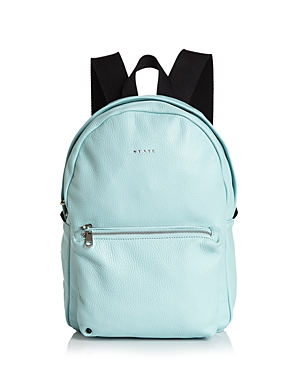 State LORIMER MINI LEATHER BACKPACK