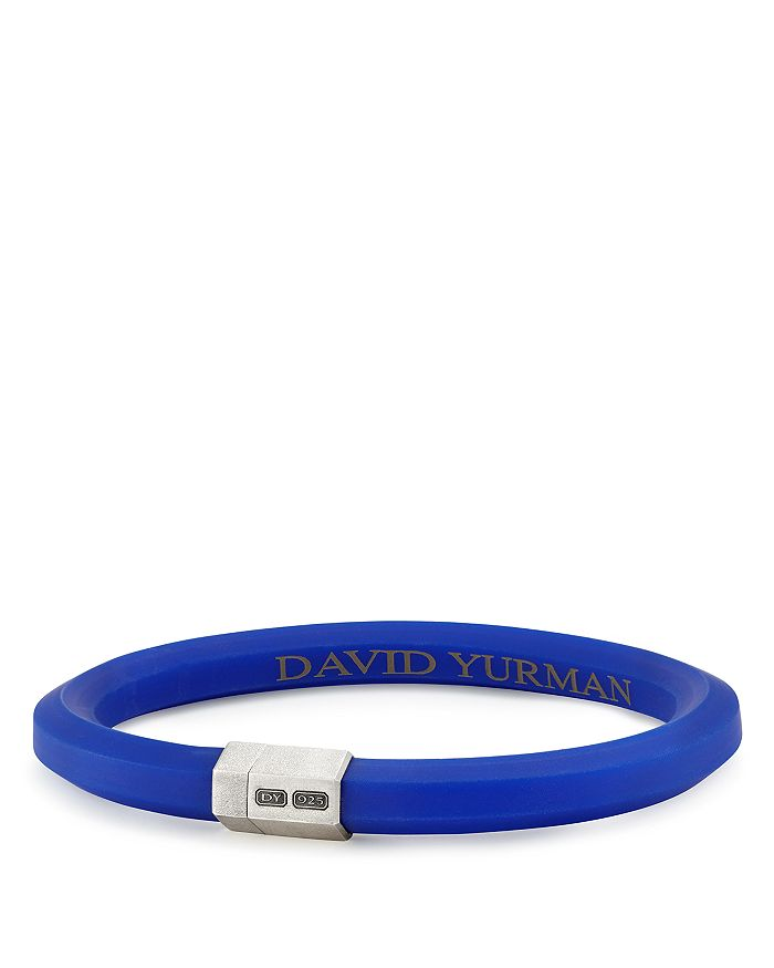 David Yurman - Men's Hex Bracelet in Blue