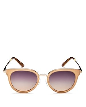 Toms Rey Round Sunglasses, 49mm