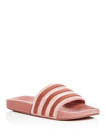 a891c67835dd77 Adidas - Women s Adilette Velvet Pool Slides