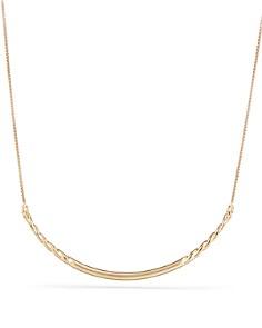 David Yurman - Pure Form Collar Necklace in 18K Yellow Gold