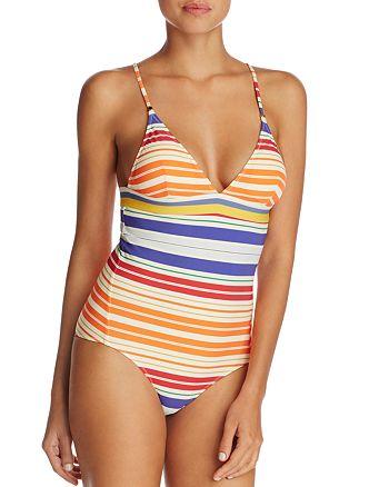 Stella McCartney - Striped One Piece Swimsuit