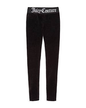 Juicy Couture Black Label Girls Track Stretch Velour Pants  Big Kid