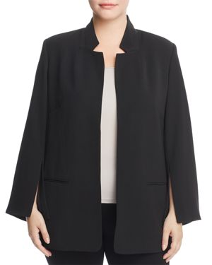 Vince Camuto Plus Split Sleeve Blazer