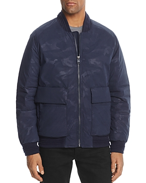 Andrew Marc Lodge Camouflage Bomber Jacket - 100% Exclusive