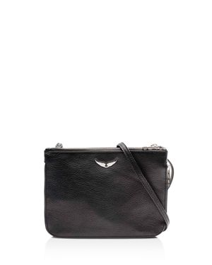 Zadig & Voltaire Clyde Leather Crossbody 3139746