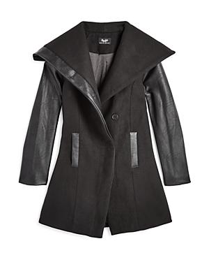 e587462fd7a02 Bardot Junior Girls' Coat with Oversized Shawl Collar - Big Kid