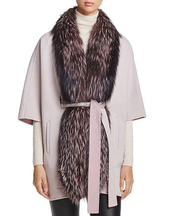 Maximilian Furs - Saga Fox Fur-Trim Tunic - 100% Exclusive