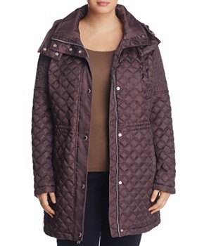 Marc New York Plus - Calypso Quilted Coat