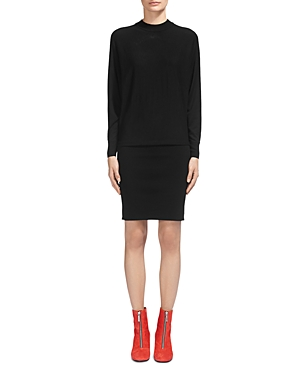 Whistles Drop-Waist Sweater Dress