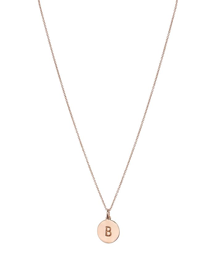 """kate spade new york - One In a Million Initial Pendant Necklace, 18"""""""