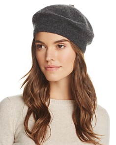 C by Bloomingdale's Angelina Cashmere Beret - 100% Exclusive_0