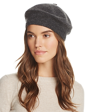 C By Bloomingdale's C BY BLOOMINGDALE'S ANGELINA CASHMERE BERET - 100% EXCLUSIVE