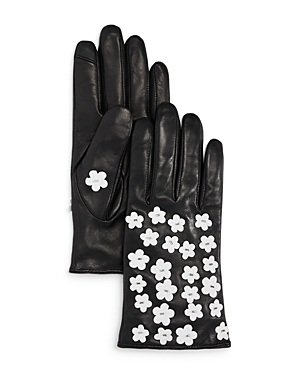 Echo Blossom Leather Tech Gloves