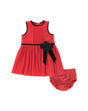 kate spade new york Girls Pleated Chiffon Dress  Bloomers Set  Baby