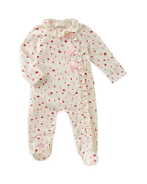 kate spade new york Girls' Ruffle-Front Footie - Baby