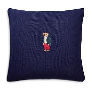 Ralph Lauren Tartan Bear Decorative Pillow, 18 x 18