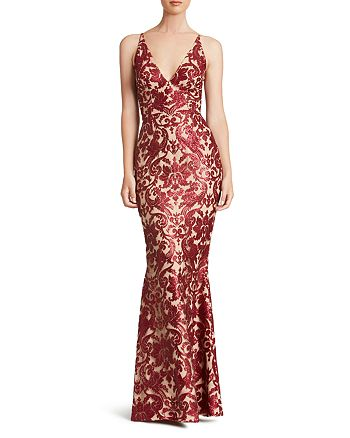 Dress the Population - Karen Sequin Gown