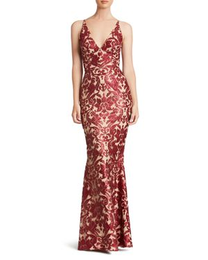 Dress the Population Karen Sequin Gown