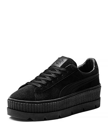 half off eadc0 b63af PUMA FENTY x Rihanna Men's Suede Cleated Creeper Platform ...