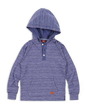 7 For All Mankind Boys Hooded Henley  Big Kid