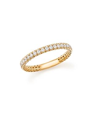 Bloomingdale's Heart Openwork Diamond Ring in 14K Yellow Gold, .25 ct. t.w. - 100% Exclusive