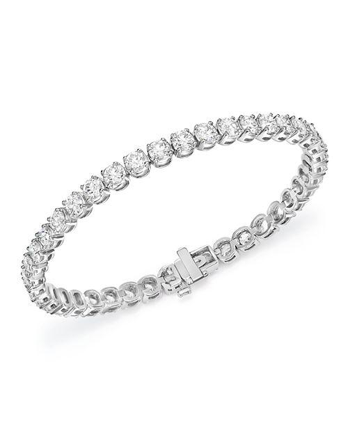 Bloomingdale's - Diamond Tennis Bracelet in 14K White Gold, 6.0 ct. t.w.- 100% Exclusive