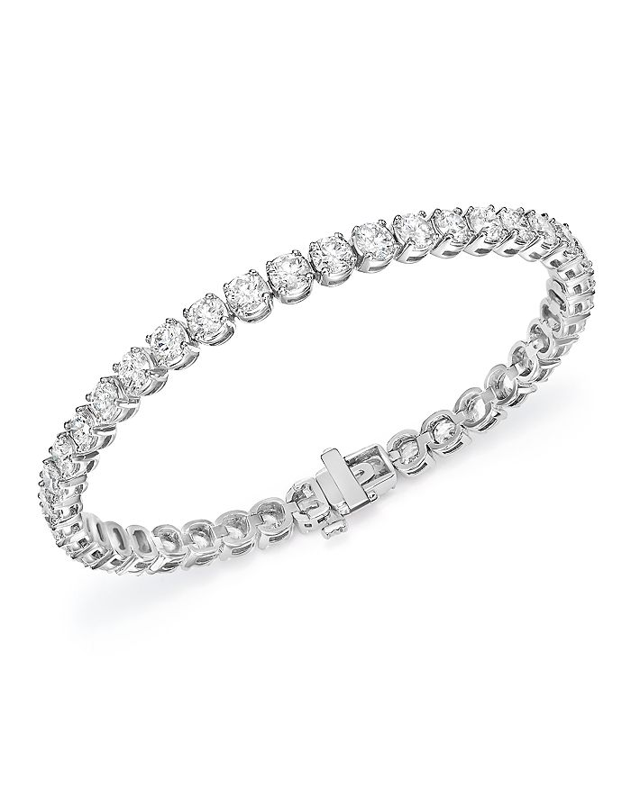 Certified Diamond Tennis Bracelet
