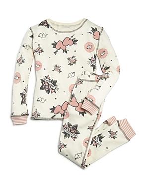 Pj Salvage Girls Love Forever Pajama Shirt  Pants Set  Big Kid