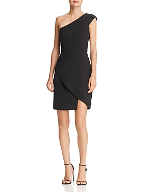 Bcbgmaxazria One Shoulder Dress at Bloomingdale's