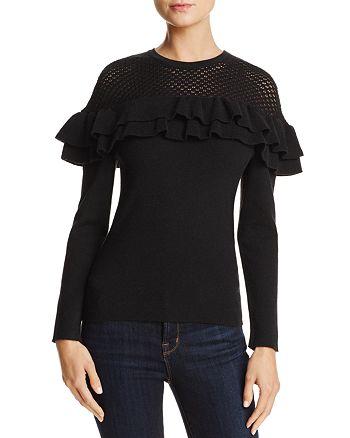Lucy Paris - Alexa Ruffle Sweater - 100% Exclusive