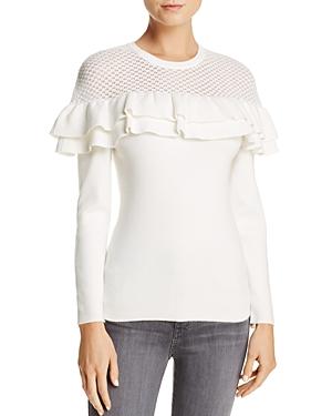 Lucy Paris Alexa Ruffle Sweater - 100% Exclusive
