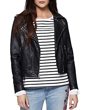 Sanctuary Ophelia Leather Moto Jacket