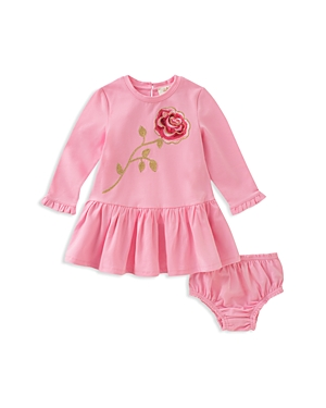 kate spade new york Girls' Rose Dress & Bloomers Set - Baby