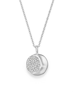 IPPOLITA - Sterling Silver Onda Diamond Pendant Necklace, 16""