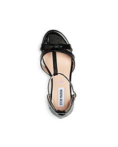 STEVE MADDEN - Girls' JPrincess T-Strap Kitten-Heel Sandals - Little Kid, Big Kid