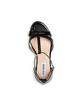 STEVE MADDEN - Girls' JPrincess T-Strap Kitten-Heel Sandals - Little Kid, Big Kid