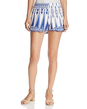 Surf Gypsy Ruffle Swim Cover-Up Shorts
