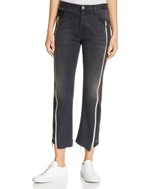 Current/Elliott The Dallon Zipped Ankle Jeans in Highline