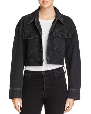 T by Alexander Wang Cropped Denim Jacket