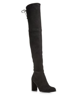 Women's Hiline Suede Over The Knee Boots by Bloomingdales