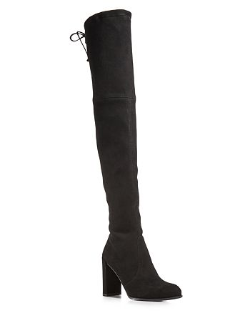 Stuart Weitzman - Women's Hiline Suede Over-the-Knee Boots