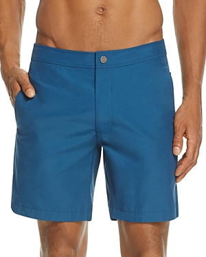 Onia Calder Solid Swim Trunks